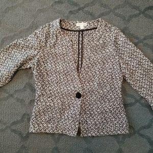 Coldwater Creek tweed jacket